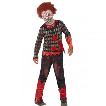 Disfraz Infantil Payaso Zombie T-M