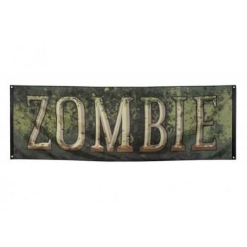 Cartel Zombie 74X220cm