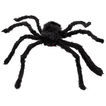 Araña Peluda Negra 50X56cm