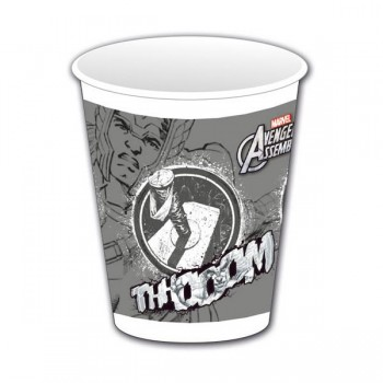 P/8 Vasos Thor Vengadores