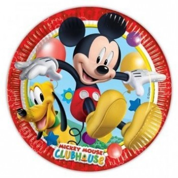 P/8 Plato 23Cm Mickey Clubhous