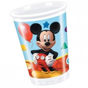 P/8 Vasos Mickey Playful