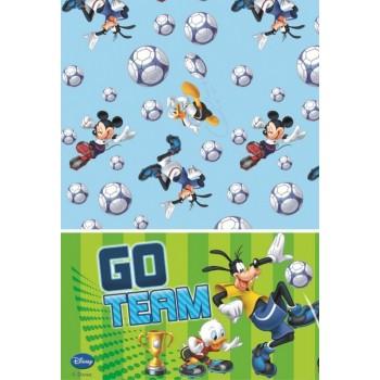 Mantel Mickey Goal 120X180cm