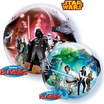 """Globo 22"""" Burbuja Star Wars"""