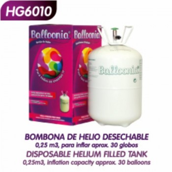 Botella Helio Pequeña