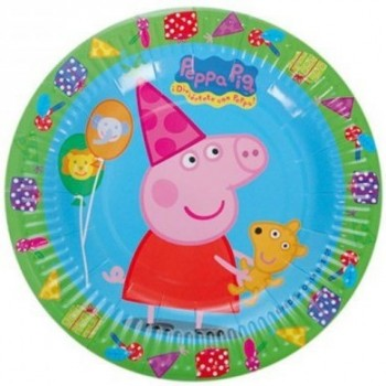 P/8 Plato 18Cm Peppa Pig