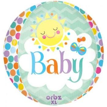 Globo Orbz Baby Sun 40Cm