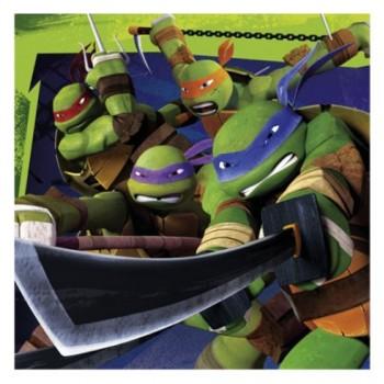 P/20 Serv.Tortugas Ninja 33X33