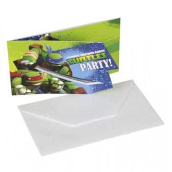 P/6 Invit.Tortugas Ninja