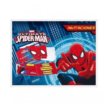B.P.6 Invit.Spiderman Ultimate