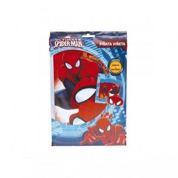 Piñata Viñeta Spiderman Arañas