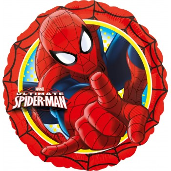 Globo 18 Red.Spiderman Ultimat