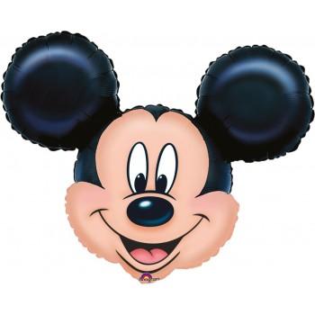 """Globo 28""""Cabeza Mickey"""