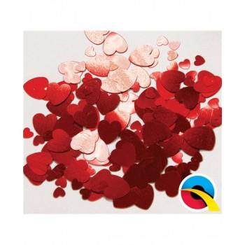 Confetti Corazones Rojos 12Gr