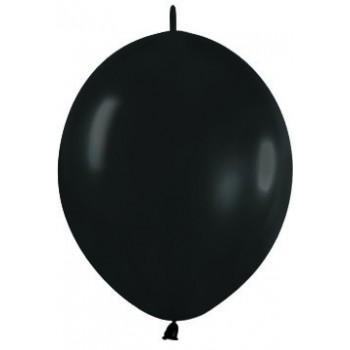 B/25 Globos Guirn.R12 Negro