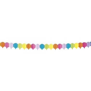 Guirn. Globos Colores 4M