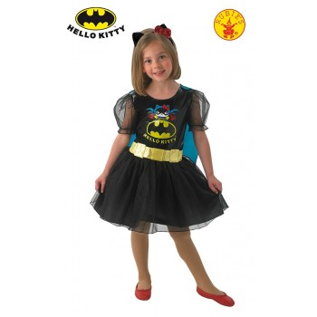 Disf.Inf.Hello Kitty Batgirl S