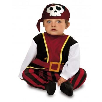 Disf.Bebe Pirata 7-12Meses