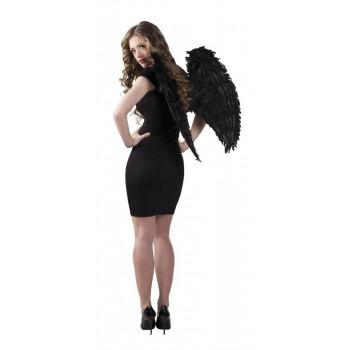 Alas De Angel Negro 65X65cm