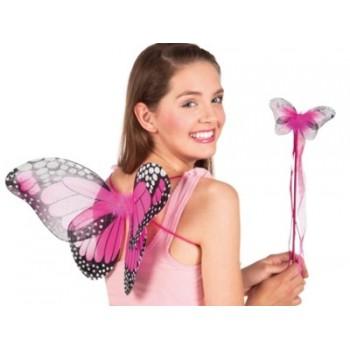 Set Mariposa (Alas Y Varita)
