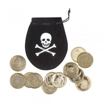 Bolsa Pirata C/12 Monedas