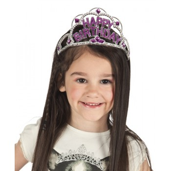 Tiara Happy Birthday Infantil