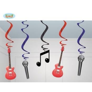 B/5 Colg. Guitarra/Micro