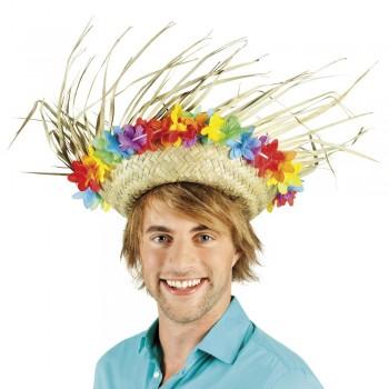 Sombrero Hawai Flores