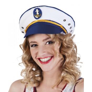 Gorra Capitan Marinero C/Ancla