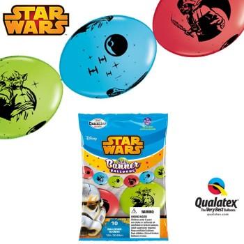 B/10 Globos Star Wars Guirnald