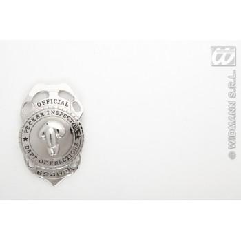 Chapa Inspector Policia Pene