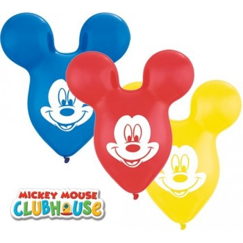 "Globo 15"" Forma Mickey Latex"