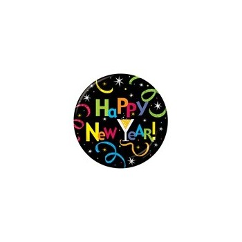 P/8 Platos 17Cm Happy New Year