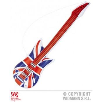 Guitarra Inflable Bandera U.K.