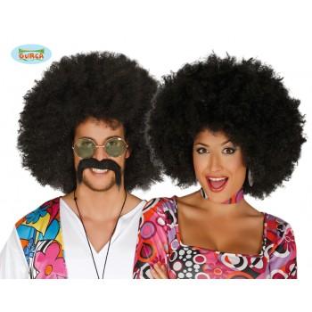 Peluca Afro Negra Extra
