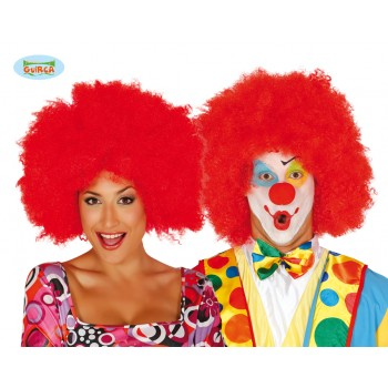 Peluca Afro Roja Extra
