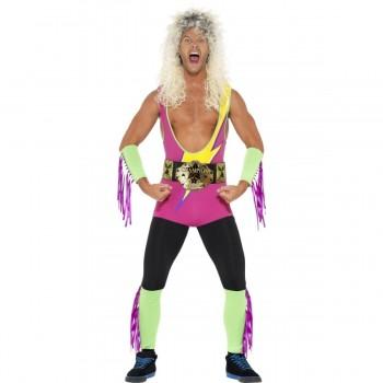 Disf.Luchador Wrestler T-L