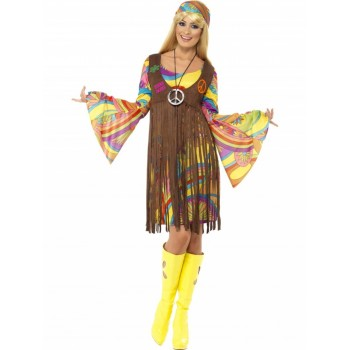 Disf.Groovy 1960S Hippie T-L