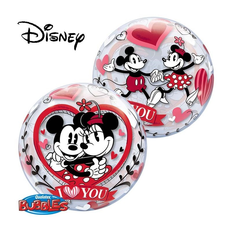Globo Burb.Mickey&Minnie Ilove