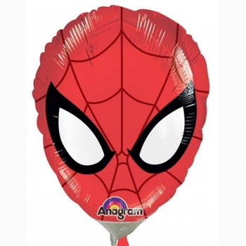 Globo Palo Cara Spiderman