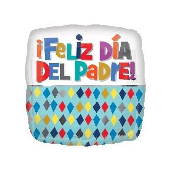 """Globo 18"""" Feliz Dia Del Padre"""