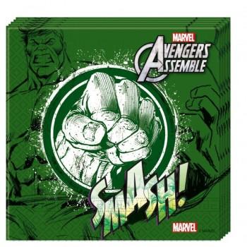 P/20 Serv.Hulk Vengadores