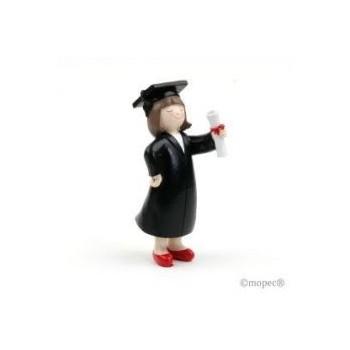 Figura Pastel Graduacion Chica