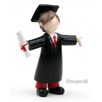 Figura Pastel Graduacion Chico