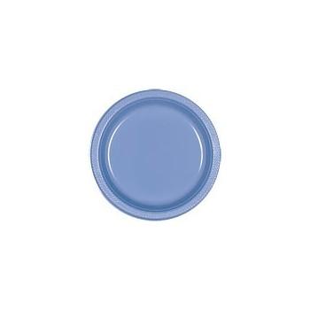 P/10 Plato 18Cm Azul Pastel