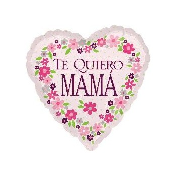 "Globo 18"" Te Quiero Mama Rosa"