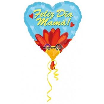 """Globo 18"""" Feliz Dia Mama Daisy"""