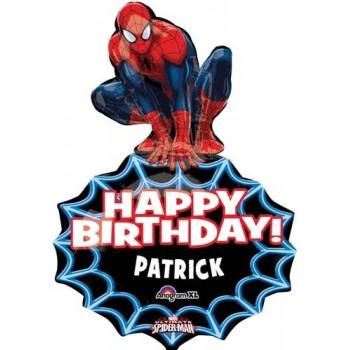 Globo Spiderman Personalizable
