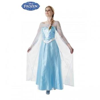 Disf.Elsa Adulto T-S