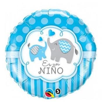 """Globo 18""""Es Un Niño Elefante"""
